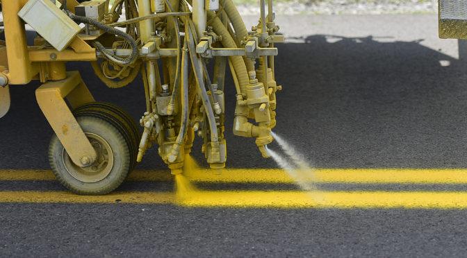 Traffic Paint Bid Awarded